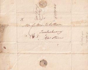 Landlord Rent Tenancy Debt Bromsgrove Winchester Gloucester Victorian 1825 Lette