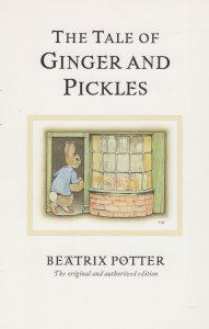 The Tale Of Ginger And Pickles Beatrix Potter Book Postcard