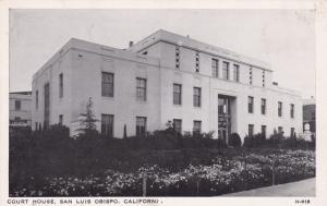 SAN LUIS OBISPO , California , 40-60s ; Court House