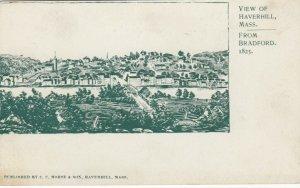 HAVERHILL , Massachusetts, 1900-10s; From Bradford