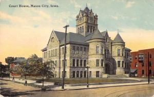 court house mason city iowa L4436 antique postcard