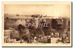 Old Postcard Sedan Le Chateau Fort