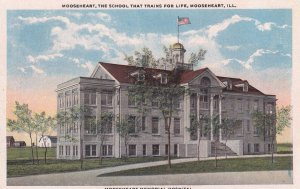 MOOSEHEART, Illinois, 1900-1910's; Memorial Hospital At Mooseheart, The Schoo...