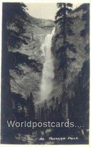 Real Photo Takakaw Falls Canada Unused