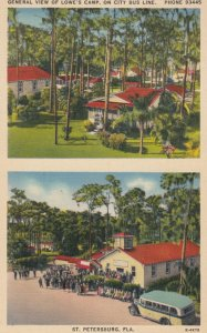ST. PETERSBURG , Florida , 1930s-40s ; Lowe's Camp