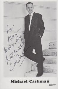 Michael Cashman BBC Eastenders Gay Interest Hand Signed Photo