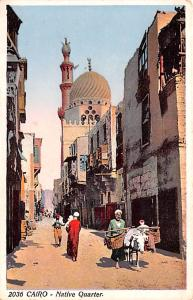 Cairo Egypt, Egypte, Africa Native Quarters Cairo Native Quarters