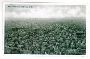 Bird's - Eye View of Dover, New Hampshire, unused Curteich Photo Finish PPC