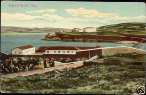spain, LA CORUNA, Lazareto de Oza (1922) Stamp