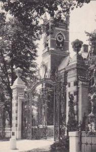 Massachusetts Northampton College Hall And The Grecourt Gates Smith College A...