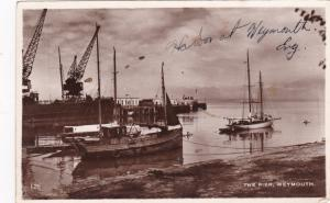 RP, Sailboats, The Pier, Weymouth, Dorset, England, 00-10s