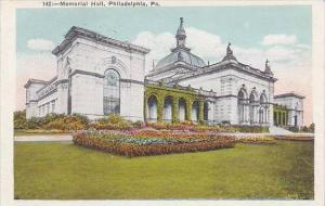 Pennsylvania Philadelphia Memorial Hall