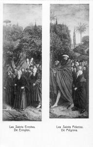 Gand Cath. St. Bavon, Jean Van Eyck Les Saints Ermites De Ermyten holy Hermits