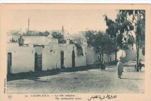 Morocco Casablanca The Indigenous Town 1920s-30s