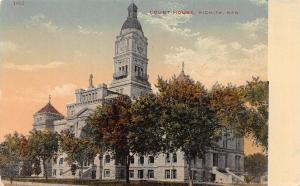 Court House, Wichita, Kansas,  Early Postcard, Unused