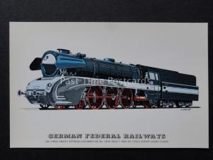 German Federal Railway OIL FIRED No.10001 Locomotive by Prescott c1970's