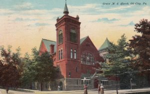 OIL CITY, Pennsylvania, PU-1911; Grace M.E. Church