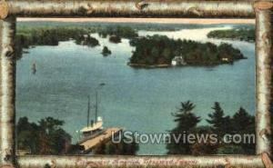 Thousand Islands, New York, NY Post Card Postcard Thousand Islands NY 1909