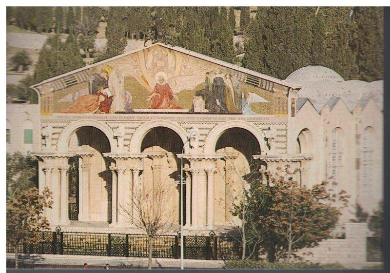 Postcard - The Church of Gethsemane 571 - Jerusalem Israel