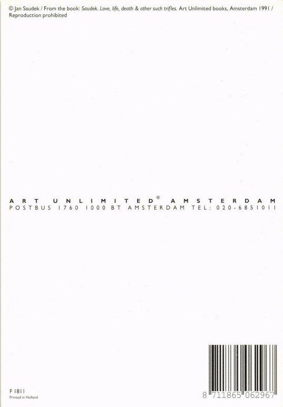 CPM F1811, JAN SAUDEK, SAUDEK. LOVE, LIFE & OTHER SUCH TRIFLES 1991 (d1347)