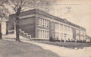 DUNCANNON, Pennsylvania, 1900-10s ; The High School