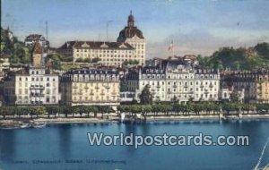 Schweizerhof, Schweiz Luzern Swizerland 1924