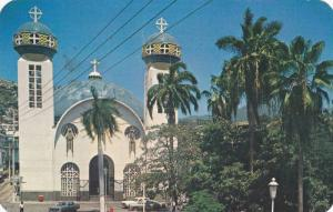 Cathedral And Central Park, Acapulco, Mexico, PU-1971