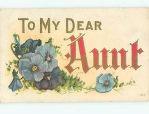 Divided-Back BEAUTIFUL FLOWERS SCENE Great Postcard AA2748