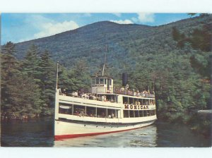 Pre-1980 BOAT SCENE Adirondacks - Lake George New York NY AF3840