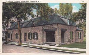 New York Kingston Old Senate House Built 1676