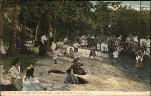 Ballston Lake Forest Park NY c1905 Postcard