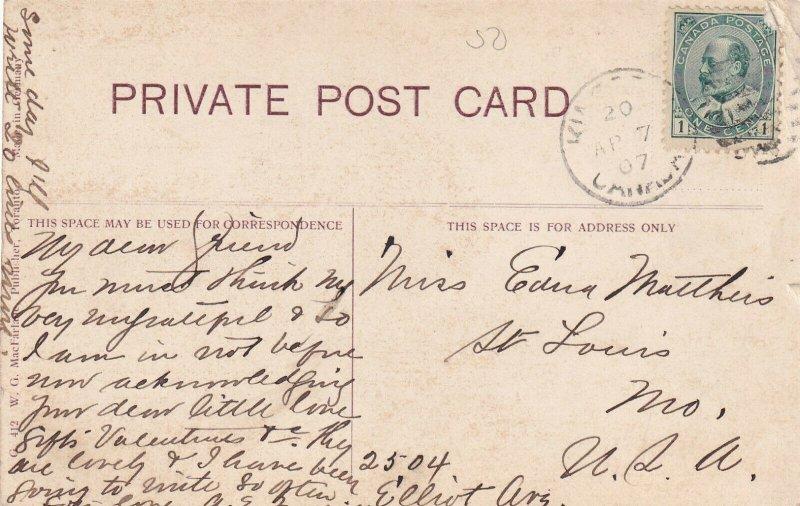 DALHOUSIE, New Brunswick, Canada, PU-1907; Gate Of Fossil Cove, Natural Arch