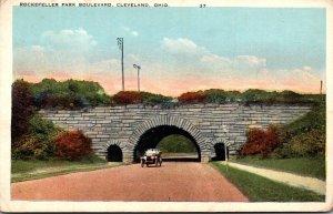 Ohio Cleveland Rockefeller Park Boulevard