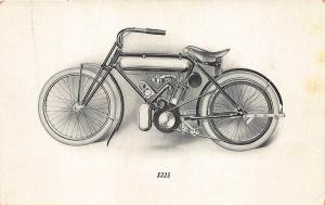 Brockton MA M. M. Magneto Special Motorcycle American Motor $225 Postcard