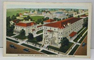 Weltmer Sanitarium Nevada Missouri Vintage Postcard