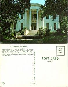 Governor's Mansion, Jackson, Mississippi