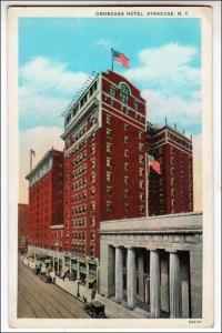 Onondaga Hotel, Syracuse NY