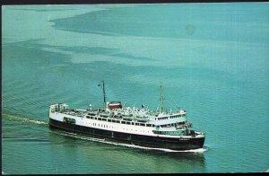 PEI Passenger Ferry Boat M.V.S. ABEGWEIT Cape Tormentine N.B. Borden - pm1965 C