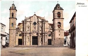 Habana Cuba, Republica de Cuba La Catedral Habana La Catedral