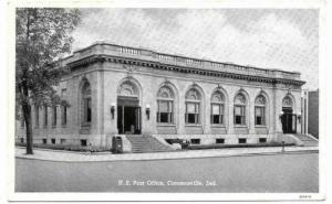 U. S. Post Office, Connersville, Indiana, 00-10s