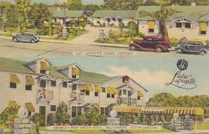 South Carolina Walterboro Lady Lafayette Tourist Cottages and Americas Most U...