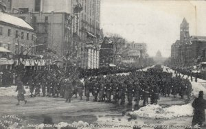WASHINGTON, D.C., 1909 ; Inaugural Parade, Williard Hotel
