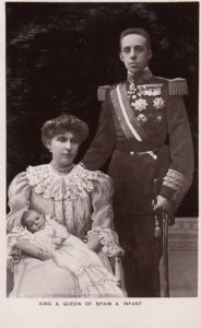 RP: King & Queen of Spain & Infant , 00-10s