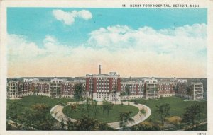DETROIT , Michigan , 1900-10s ; Henry Ford Hospital, version 2