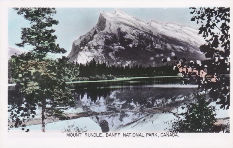 RP: Mount Rundle , BANFF National Park , Alberta, Canada , 30-50s
