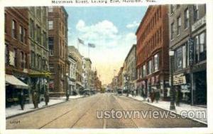 Merrimack St. Haverhill MA 1928