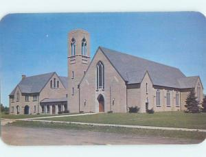 Unused Pre-1980 CHURCH SCENE Peoria Illinois IL A6310