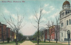 BALTIMORE, Maryland, 1900-1910s ; Eutaw Place