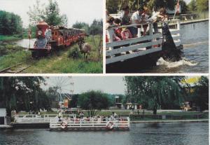 Miniature Train , African S Lion Safari , Cambridsge , Ontario , Canada , 40-60s