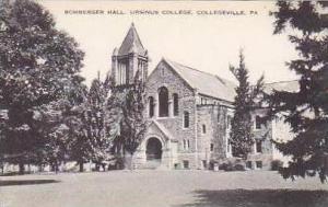 Pennsylvania Collegeville Bomberger Hall Ursinus College Artvue